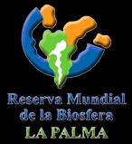 Logo Reserva Mundial de La Bioesfera La Palma · Canarias
