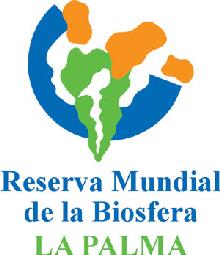 Logo Reserva Mundial de La Biosfera · La Palma