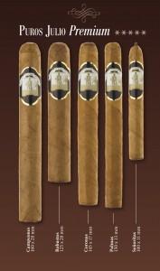 Vitolario Puro Palmero Julio Premium · Tabaco hecho en La Palma · Islas Canarias