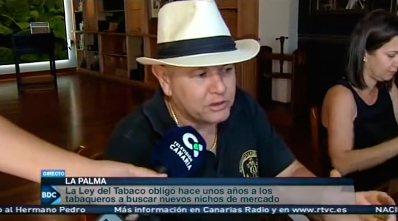 Reportaje de Puros Artesanos Julio en Buenos Días Canarias RTVCes