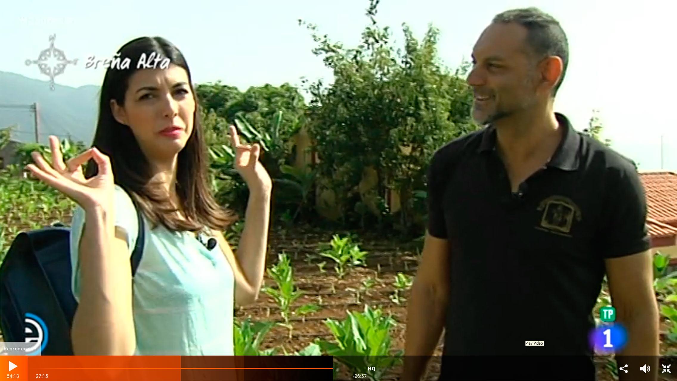 Reportaje de Puros Artesanos Julio en España Directo RTVE