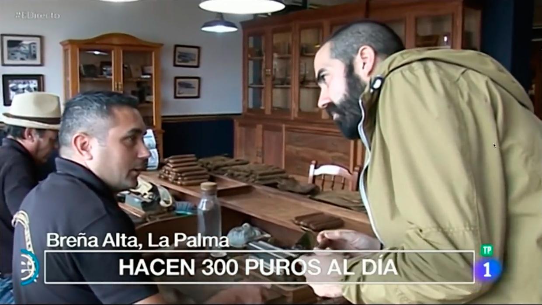 Programa de España Directo desde la Isla de La Palma el dia 09 de Febrero de 2018