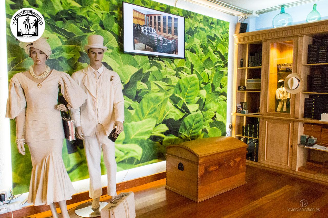 Tabaquería temática en La Palma. Parque temático sobre el tabaco