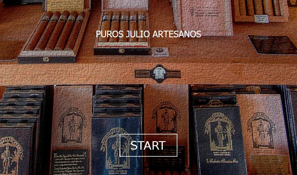 Visita Virtual La Palma 360º a Puros Artesanos Julio