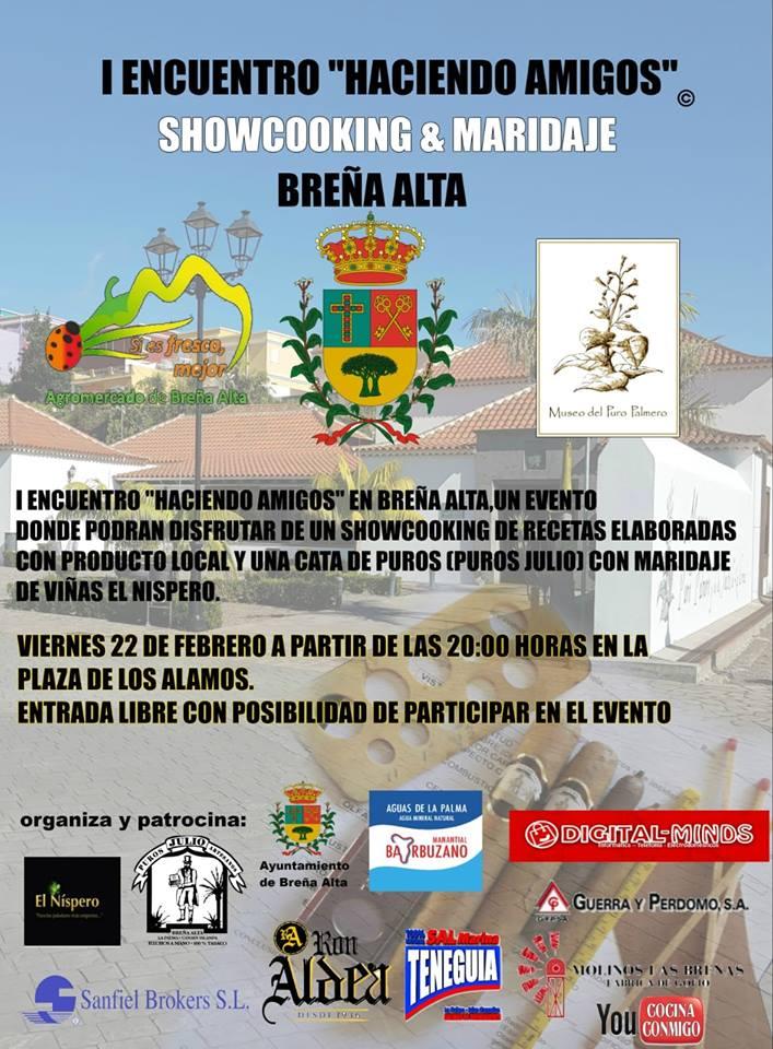 primera edición de 'Haciendo Amigos en Breña Alta'